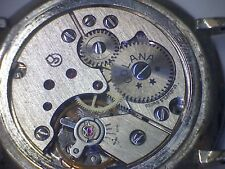 Uhrwerk watch movements PESEUX 7040, 10 1/2''' ca. 1968, verbaut