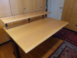 Schreibtisch GESIKA NOVA, komfortabel, sehr gut erhalten