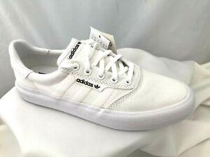 BNIB Adidas Originals Triple White 3MC Trainers Pumps Shoes Sizes 5 & 5.5