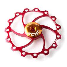 KCNC AL7075 15T Bicicleta Cambio Trasero / Rear Derailleur Jockey Wheel Pulley