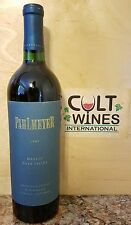 RP 96 pts. 1997 Pahlmeyer Napa Valley Merlot wine. Best Merlot ever made?