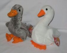 Ty Beanie Baby - Gracie the Swan and Honks the Goose - Mwmt