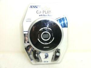 Jensen Compact Disc Player Digital Audio CD-56 Bass Boost
