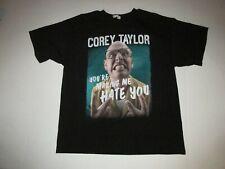 Corey Taylor Your Making Me Hate You Book And Concert Tour Shirt Sz XL Slipknot
