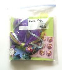 DISNEY Frozen Elsa & Anna CHIPBOARD - Scrapbooking Mini Album kit #418cb