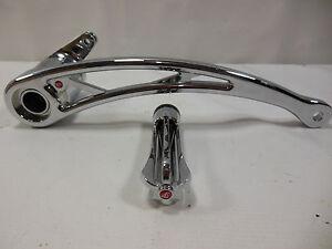 Battistinis Chrome Wireframe Rear Brake Pedal Arm 1610-0239 for Harley #B1544
