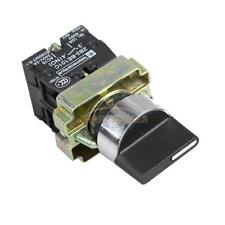 10A ON/OFF/ON Rotary 3 Position 2NO Maintained Toggle Selector Switch XB2-BD33C
