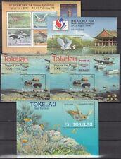 TOKELAU-INSELN, 1994/95 Block 2, 3, 4, 4I, 6 **, (22317)
