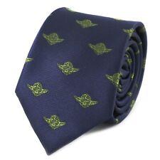 Microfiber Jacquard Master Yoda Pattern Necktie Star Wars Movie Theme Necktie