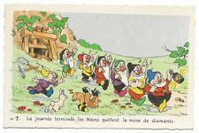 Carte Postale - WALT DISNEY - Edition Superluxe Paris  Blanche Neige  N°7