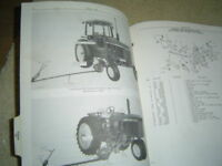John Deere 250 tractor mower parts catalog manual