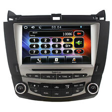 "Koolertron US 8"" Autoradio DVD GPS Satnav Stereo For Honda Accord 2003-2007"