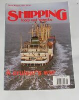 SHIPPING TODAY AND YESTERDAY AUGUST 1993 - A CRUISER'S WAR