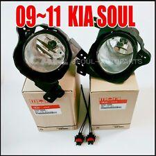 KIA 09-11 SOUL FOG LAMP FOG LIGHT Left Right 2EA =1SET + Connector  Genuine OEM