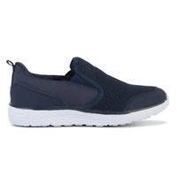Mens Lightning Bolt Niko Grey Navy Athletic Casual Comfortable Sneakers Shoes
