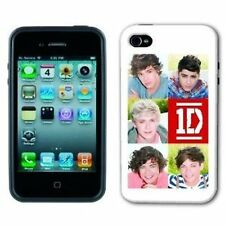 1D One Direction Harry Styles Fits iPhone 4 4G 4GS White Cover Hard Case Officia