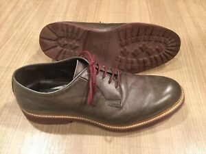 To Boot New York Mens 9 Grey Italian Dress Shoes