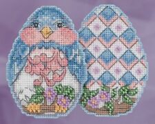 10% Off Mill Hill Jim Shore X-stitch/Bead Kit - Bluebird Egg