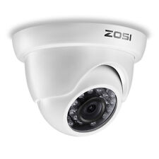 ZOSI 720p HD 1.0MP 24 IR LEDs Outdoor CCTV Security Dome Camera Night Vision