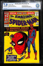 Amazing Spider-Man Annual # 2 CGC 7.0 OW/White - Dr. Strange