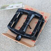 """ODYSSEY BMX BIKE GRANDSTAND PC BLACK BICYCLE PEDALS 9/16"""" PRIMO CULT SUNDAY FIT"""