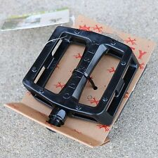 "ODYSSEY BMX BIKE GRANDSTAND PC BLACK BICYCLE PEDALS 9/16"" PRIMO CULT SUNDAY FIT"