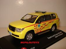 J-COLLECTION JC256 TOYOTA LAND CRUISER 200 QATAR FIRE BRIGADE 2009  au 1/43°