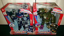 Bulkhead Headmaster + Ultra Magnus Leader Class Transformers Animated BOTH MISP!