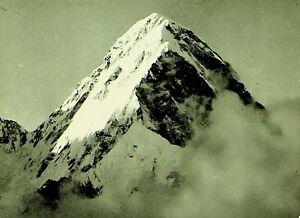 NEPAL 1967 VEREST EXPEDITION HIMALAYA POST GERHARD LENSER SIGNED PPC