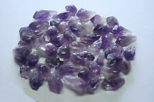 Amethyst Points 1/4 Lb Lots Natural Dark Purple Geode Crystals Brazil