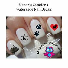 French Bulldog Frenchie Adult Size Nail Art Decals