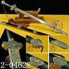 "40.55""INCH Hand Forge Chinese Sword ""Tai Chi Jian""(劍) Pattern Steels KATANA#069"