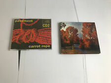 Pavement - Carrot Rope CD Single part 2 + MAJOR LEAGUE 2 X CD LOT
