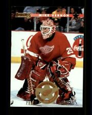 1996-97 Donruss Press Proofs #52 Mike Vernon (ref 97644)