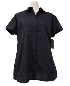 *BNWT* NNT Size 18 Ladies NAVY Maternity S/Sleeve Blouse (Work or Home) CATU95