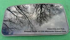 WEBASTO SOLAIRE STARLITE MODEL 5200 AFTERMARKET SUNROOF GLASS PANEL  FREE SHIP