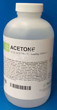 Medical ACS Grade Acetone 100% 16oz For Lab Use Only 454mL StatLab Healthlink US