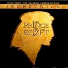 PRINCE OF EGYPT Soundtrack Music CD **NEW** Stephen Schwartz Dreamworks 1998