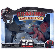 New HTF 2016 DreamWorks Dragons TOOTHLESS vs. RED DEATH How to Train Your Dragon