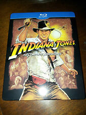 Indiana Jones - Cofanetto STEELBOOK Italia raro - Tutti i 4 Film in 5 blu-ray