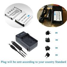 Li-ion Battery Or Charger for Samsung SLB-10A SLB-10 A SLB10A EA-PSLB10A 1050mAh