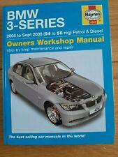 BMW 3 SERIES 2005 TO SEPT 2008 PETROL & DIESEL - HAYNES OWNERS  MANUAL, 4782