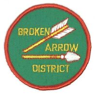 Vintage Broken Arrow District Johnny Appleseed Area Council Patch
