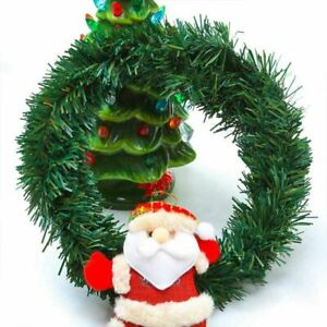 Garland Artificial Pine Christmas Bunting Tree Hanigng Banner Party Supplies