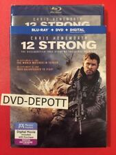 12 STRONG Blu Ray + DVD + HD & Slipcover Brand New FAST Free Shipping