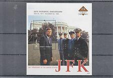 St Kitts 2013 MNH John F Kennedy 50th Memorial 1v SS II JFK US Presidents Stamps