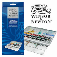 Winsor & Newton Cotman 45 Full Colour Half Pan Studio Watercolour Paint Set