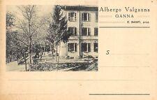 2281) HOTEL, ALBERGO VALGANNA, GANNA (VARESE).