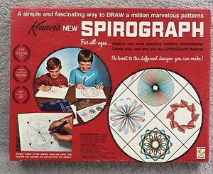 Vintage Kenner New Spirograph Toy Set Sealed Parts 1967