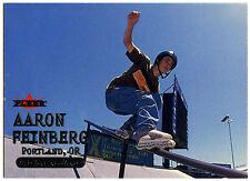 Aaron Feinberg Inline Skater #16 Fleer Adrenaline 2000 Silver Text Card (C309)